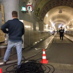 install ornamentik elbe tunnel