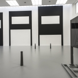 Cevdet Erek, AAAAA. Installation view at M HKA. Photo by Christine Clinkx