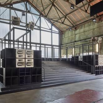 Cevdet Erek, Bergama Stereo, Ruhrtriennale Bochum 2019, Photograph by Michael Godehardt
