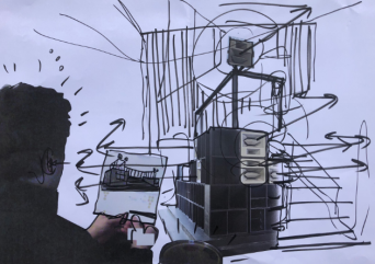 Cevdet Erek, Bergama Stereotip Karalama 2, 2020